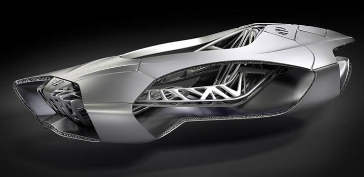 德国EDAG公司的获奖车身设计Genesis