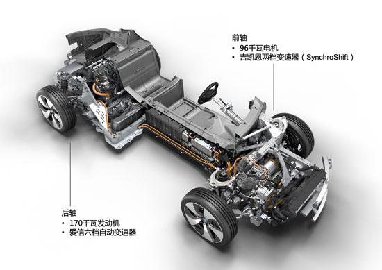 宝马i8车型驱动系统